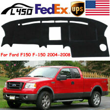 US Dashmat Dashboard Mat Dash Cover Pad For Ford F150 F-150 2004-2008 Black