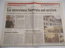 JEAN-CLAUDE SERVAIS : GODEFROID DE BOUILLON : 22/09/2012
