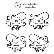 For Mercedes W219 CLS500 CLS550 CLS63 AMG Front & Rear Window Motors Kit Genuine