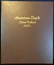 Dansco American Eagle Silver Dollars 1986-2021 Album, New