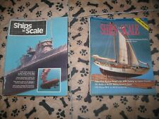 New listing 19 Assorted issues of Ships in Scale 1984- 2000