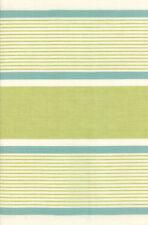 "Moda Retro Kitchen Toweling Fiesta Avocado Stripe-16"", By the Yard"