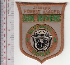 Smokey the Bear USFS Junior Forest Ranger Six Rivers National Forest Eureka, CA