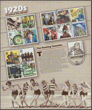 Scott #3184 Used/CTO Souvenir Sheet, Celebrate the Century - 1920's