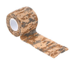 MILITARY Camo Waterproof Wrap OUTDOOR Camping Hiking Camouflage Stealth Tape NEW
