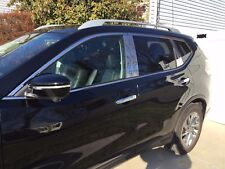 STAINLESS STEEL CHROME PILLARS FOR NISSAN ROGUE 8PCS