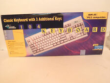 NOS IBM Vintage Keyboard PS / 2 Compatible