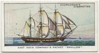 The Swallow Easy India Company's Packet Sailing Ship  80 Y/O Ad Trade Card