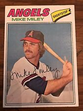 1977 Topps Mike Miley California Angels 257