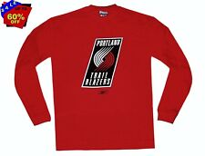 Nba Mens Apparel * Portland Trailblazers NBA Mens Reebok Crew Sweatshirt, 2XL