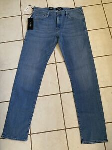 34 HERITAGE NWT! COURAGE SOFT Shaded Light Wash Ultra Slim Stretch Jeans 36x34