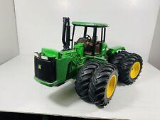 "Rare Used John Deere 8870 1/16 4wd Green Tractor 1993 Metal Toy 16"""