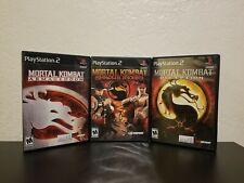 Mortal Kombat KollectionDeception Armageddon Shaolin Monks (Sony PlayStation 2)