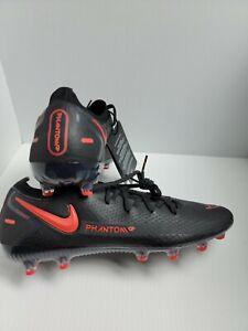 Nike Men's Phantom GT Elite AG CK8438-060 Black Red Soccer Cleats Size 8  ACC