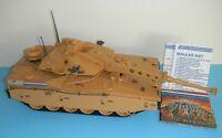 COMPLETE & WORKING 1985 GI Joe Mauler MBT Battle Tank Blueprints Tow Rope