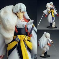 Anime InuYasha Sesshoumaru Model First Ver. Painted PVC Figure Toys Home Decor