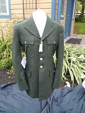 NWT US Army Men's Class A Dress Green Uniform Jacket  Coat SIZE  40 R MILITARY