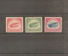US STAMP 1918 AIRMAIL MH TIMBRE USA YT PA N°1/3 NEUF*