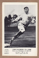 1963 Hall Of Fame picture pack Ty Cobb Detroit Tigers 5x7