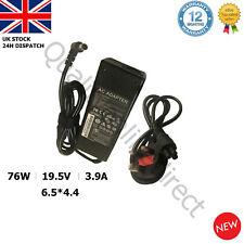 FOR SONY VAIO 19.5V 3.9A 76W LAPTOP CHARGER ADAPTER POWER SUPPLY VGP VGN SERIES