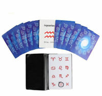 Zodiac Test - Mind Magic Tricks Test Cards Magic Mentalism Prediction Magia,Fun