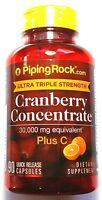Cranberry 30000mg Triple Strength Concentrate Vitamin C 90 Capsule Ultra 30,000