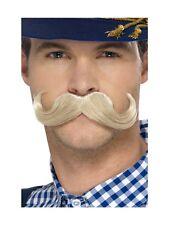 AUTHENTIQUE Fête de la bière bavarois Moustache hommes Accessoire déguisement