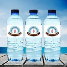 Custom Logo Water Bottle Labels Wall Stickers