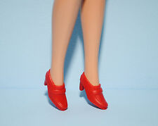 CLASSY!  Red Loafer Shoes Genuine BARBIE Fashion Accessories