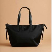 FabFitFun Botkier New York Bond Tote (Nylon) Tote Bag Black, Fall 2020, NWT