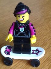 Lego Collectable  minifigure  - Skater Girl -  free postage