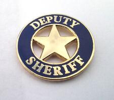 DEPUTY SHERIFF Law Enforcement Police Hat Pin P00632 EE  SMALL