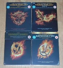 Hunger Games collection (4 blu-rays) Steelbook. NEW & SEALED (Zavvi UK).