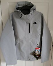 North Face RRP £190 Womens Dryzzle Jacket Goretex Large L Grey Black 1 Brand New