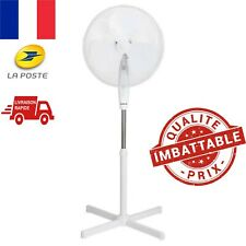 Ventilateur Sur Pied Oscillant Inclinable Hauteur Réglable ÉTÉ Rafraîchissant FR