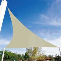 Shade Sail Triangle Waterproof Sun Canopy Patio Awning Garden 90% UV Block