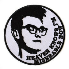 Morrissey The Smiths Iron On Patch Embroidered Heaven Knows I'm Miserable Now