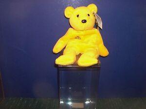 Bamm Beano's Beanie Bear -Jim Edmonds #25 in Collector's Box - Hang Tag