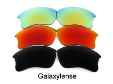 Oakley Replacement Lenses For Flak Jacket XLJ Black&Red&Gold Polarized 3 Pairs