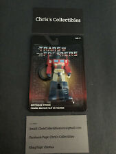 Transformers Lot Of 4 Bag Clips