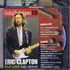 ERIC CLAPTON/ BRETT GARSED CD GUITAR TECHNIQUES 144 2007