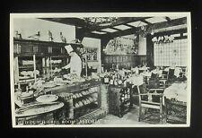 RPPC 1940s Old Dutch Grill Room Astoria Rotisserie Chicken Amsterdam Netherlands