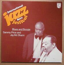 LP Sammy Price Jay McShann Blues And Boogie International Jazz Bern Festival Nm