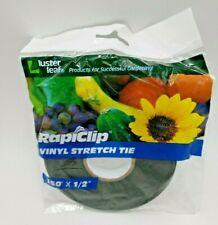 "Luster Leaf # 844 1/2"" x 150 ft Green Vinyl Stretch Plant Tie"