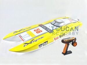 DT E51 Fiber Glass Electric RC RTR Speed Boat W/ Brushless Motor ESC Servo
