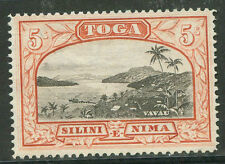 BRITISH TONGA Yvert # 51 Mint no Gum VF