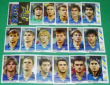 PANINI FOOTBALL GERMANY 2006 UKRAINE UKRAJINA WM COMPLET FIFA WORLD CUP