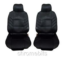 vorne schwarz Komfort Kissen Sitzbezüge für Mazda 2 3 5 6 323 626 MPV MX5 MX-5