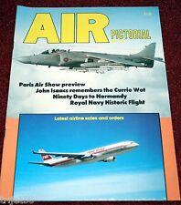 Air Pictorial 1989 June Currie Wot,FR Lancaster,RNHF