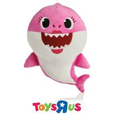 Pinkfong Pink Mommy Shark Singing Plush